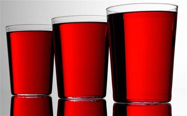 сок от червена боровинка